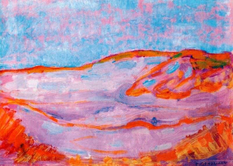 dune iv 1909-10. Piet Mondrian