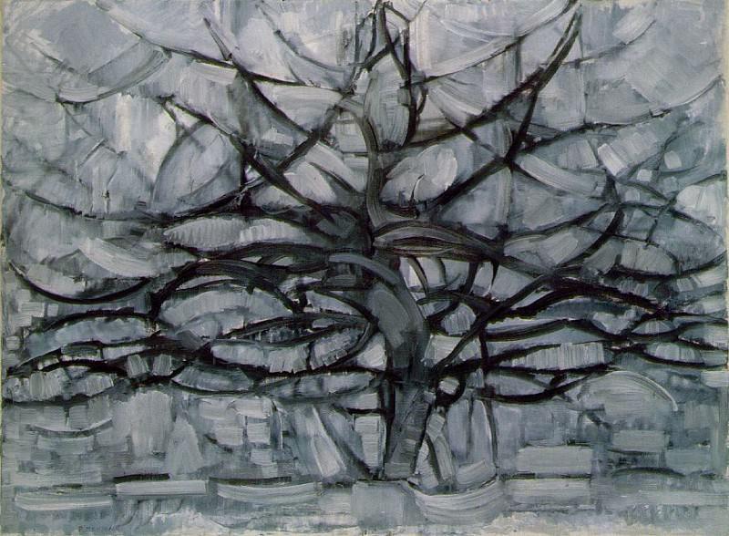 1911 Gray Tree. Piet Mondrian