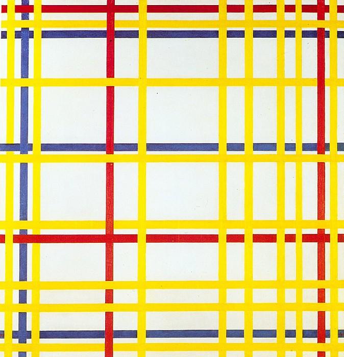 mondrian12. Piet Mondrian