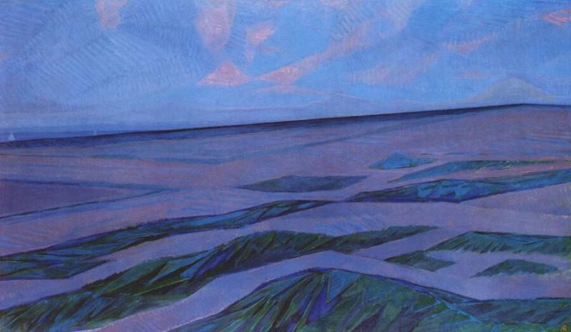 dune landscape 1910-11. Piet Mondrian