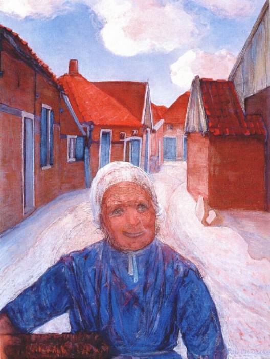 on the lappenbrink c1899. Piet Mondrian