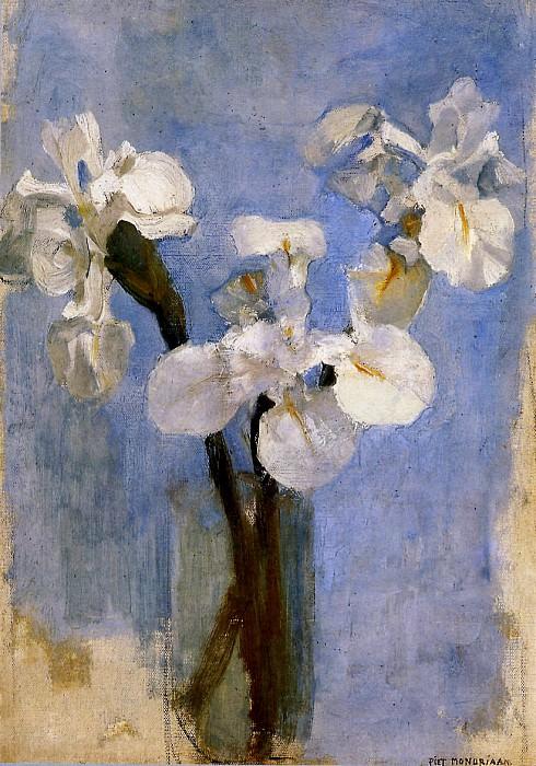 Piet Flowers. Piet Mondrian