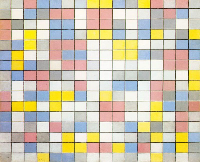 mondrian7. Piet Mondrian