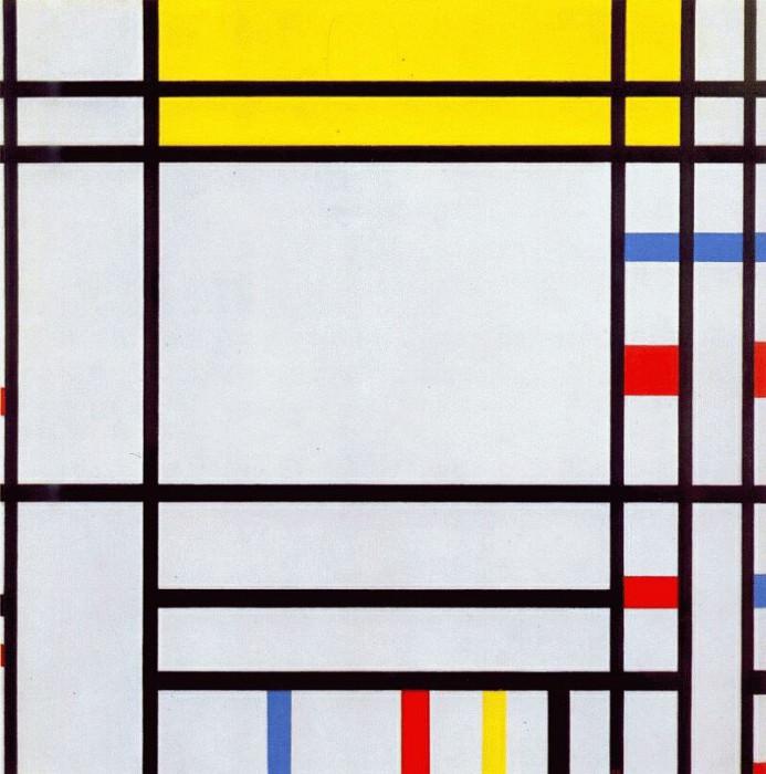 place de la concorde 1938-43. Piet Mondrian