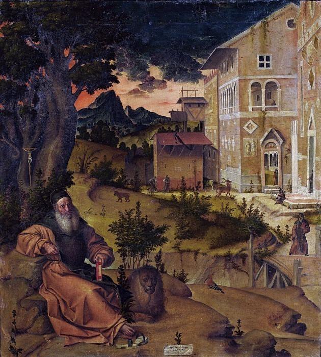 Святой Иероним в Вифлееме. Бартоломео Монтанья