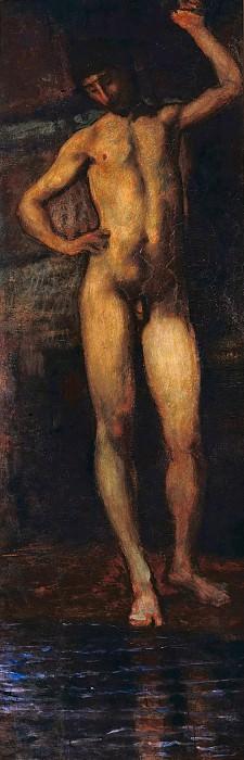 Narcissus. Hans von Marees