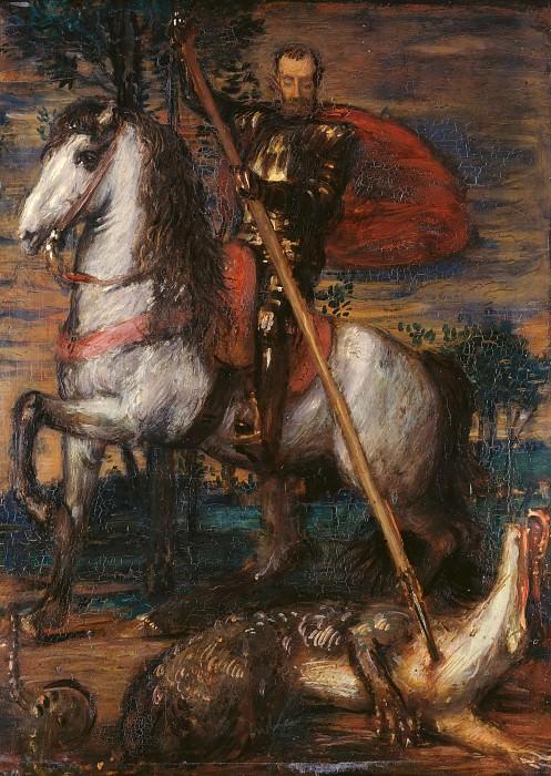 The dragon dead. Hans von Marees