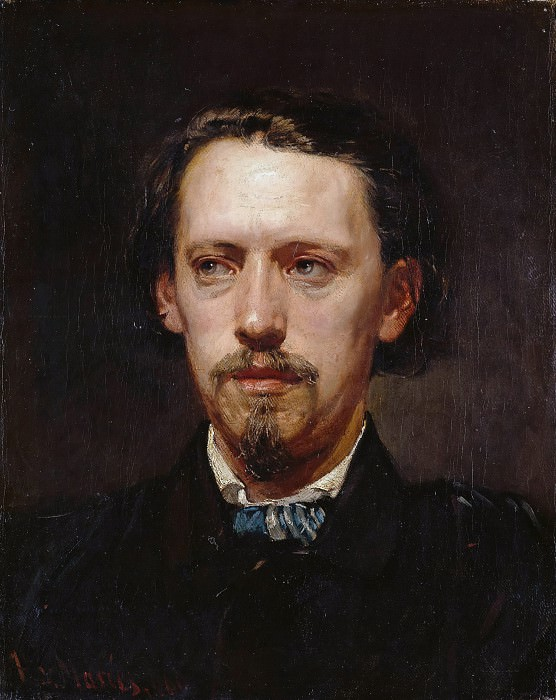 The painter Heinrich Heger. Hans von Marees
