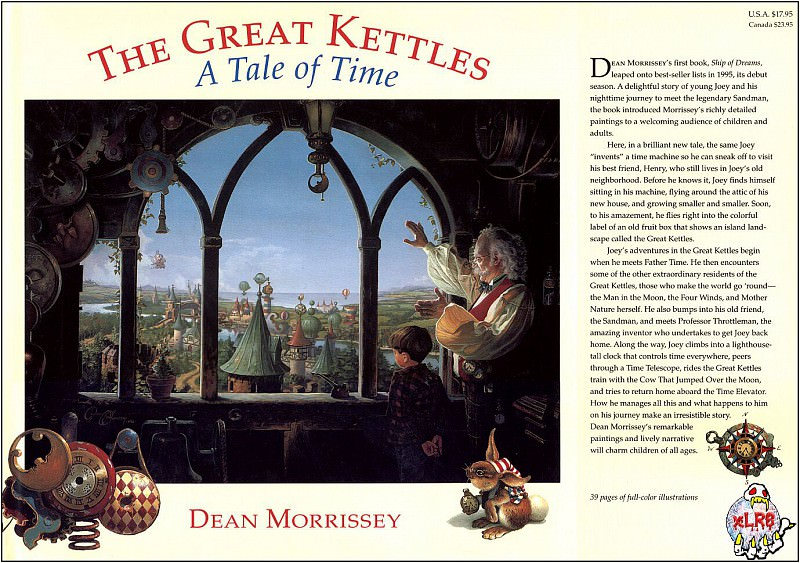 xlr8 kettles00. Dean Morrissey