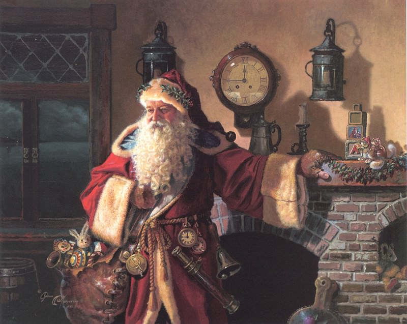 Father Christmas. Dean Morrissey