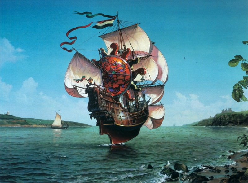 The Lightship. Dean Morrissey