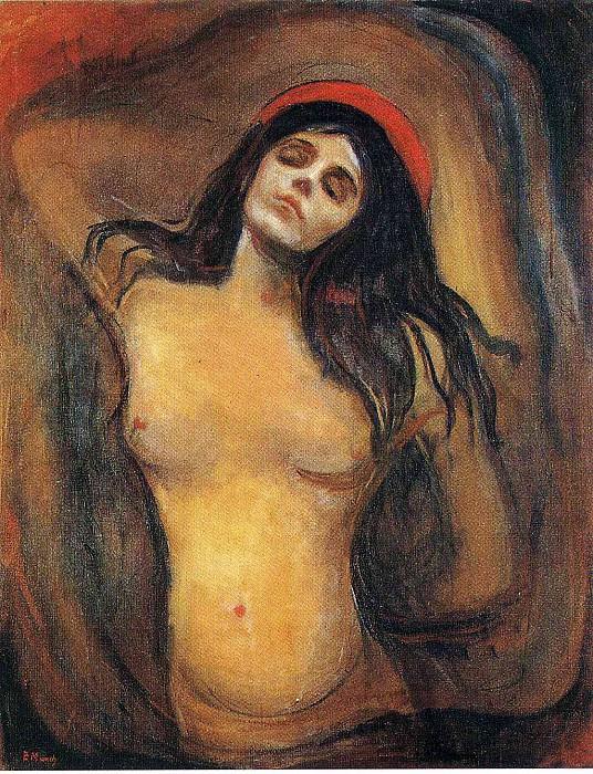 Madonna. Edvard Munch