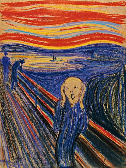 The Scream, ver. 1895. Edvard Munch