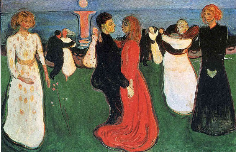 Life dance. Edvard Munch