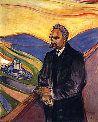 Friedrich Nietzsche. Edvard Munch