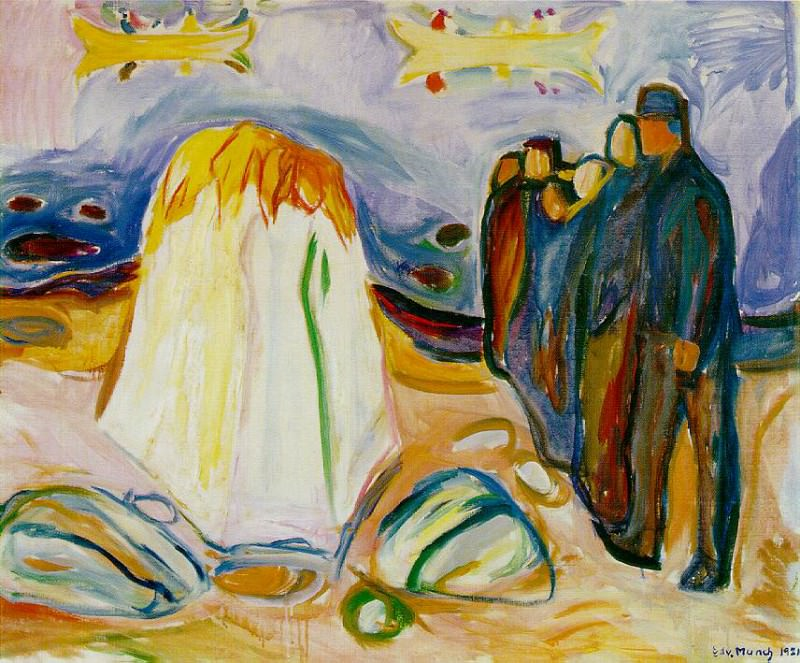 Meeting 1921, Collection of Nadia and Jacob Stolt-Niel. Edvard Munch