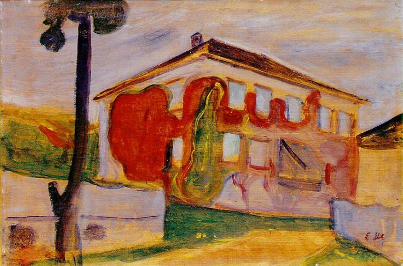 Красный ползун, 1900. Эдвард Мунк