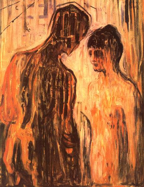 MUNCH AMOR OCH PSYCHE OSLO, MUNCH MUSEET. Edvard Munch