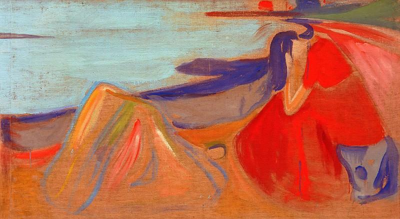 Melancholy. Edvard Munch