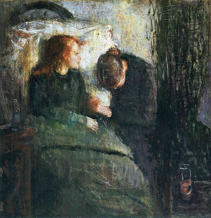 Sick Girl. Edvard Munch