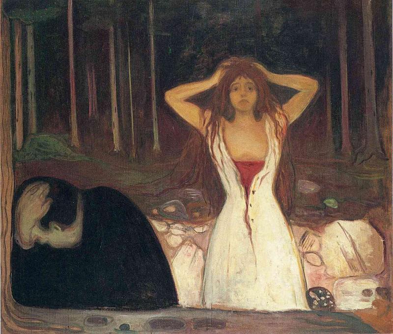 Ash. Edvard Munch