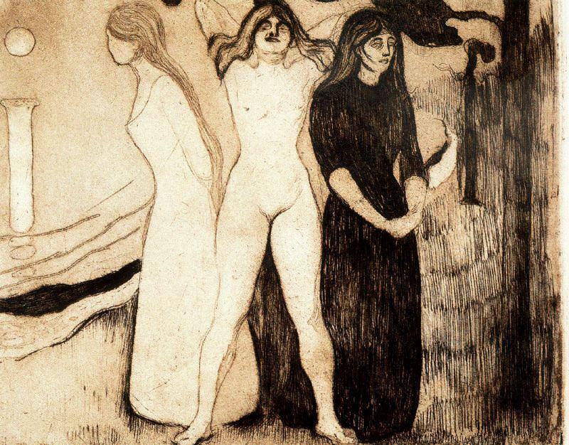 4DPespaldaict. Edvard Munch