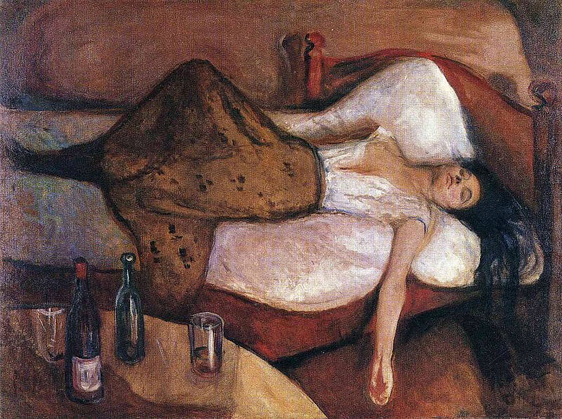 Day after. Edvard Munch