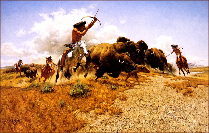 The Hunt. Frank Mccarthy