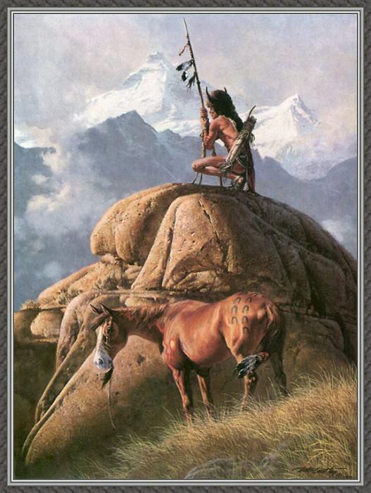 The Lone Sentinel. Frank Mccarthy