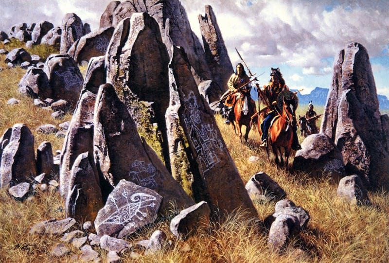 Where the Ancient Ones had Hunted. Frank Mccarthy
