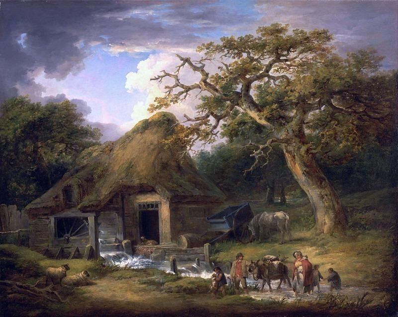 Старая водяная мельница. Джордж Морланд