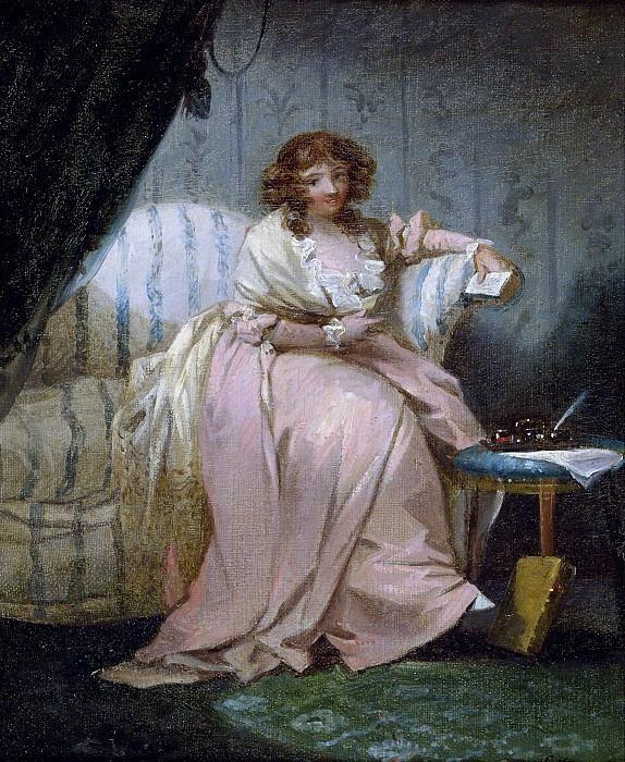 Женщина по имени Анна, жена художника. Джордж Морланд