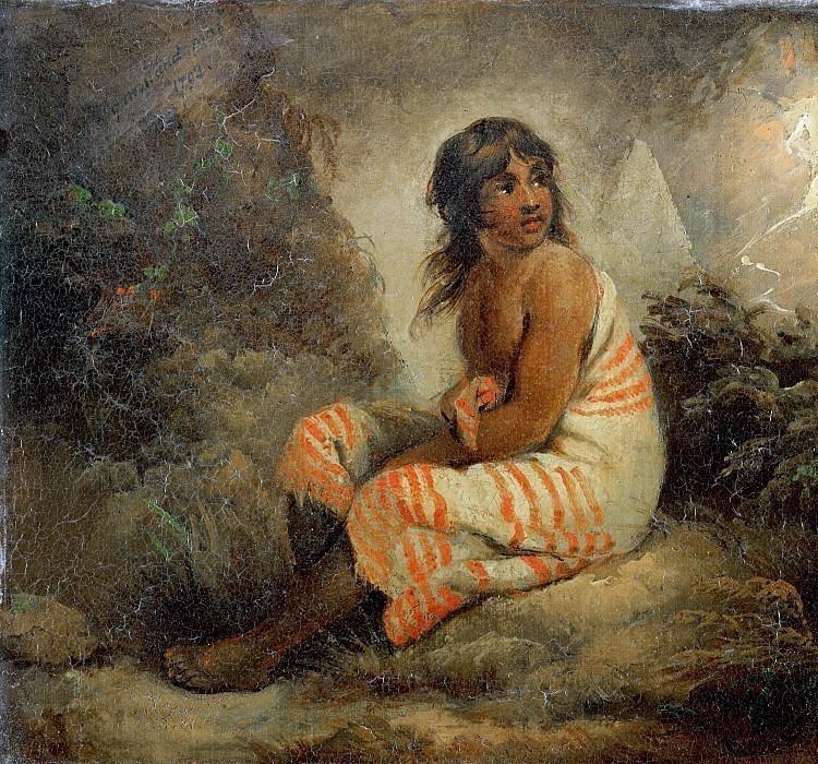 Индейская девочка. Джордж Морланд