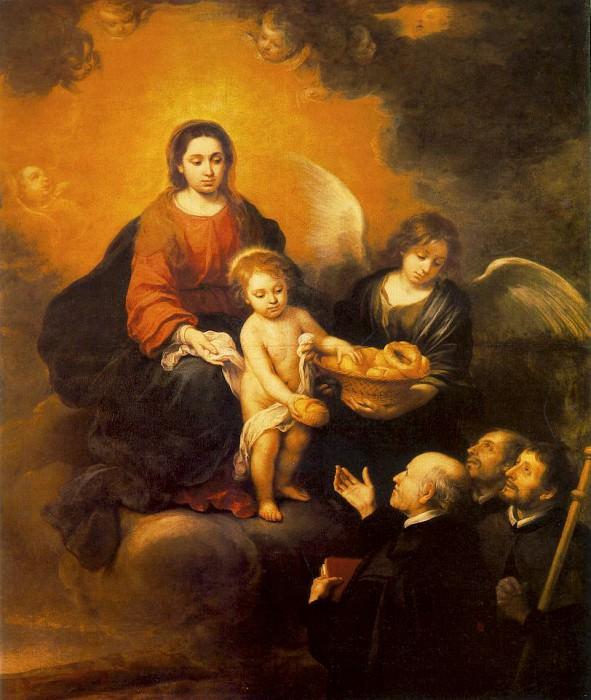 The Infant Jesus Distributing Bread to Pilgrims, 167. Bartolome Esteban Murillo