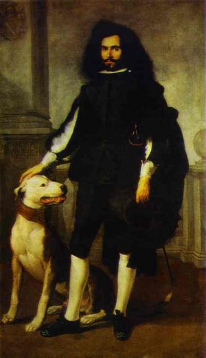 Portrait of Andres de Andrade-i-la Col. Bartolome Esteban Murillo