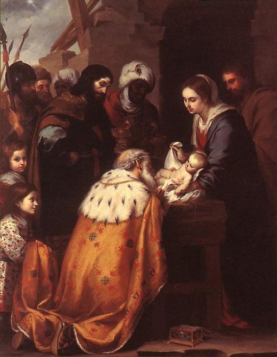 Adoration of the Magi. Bartolome Esteban Murillo
