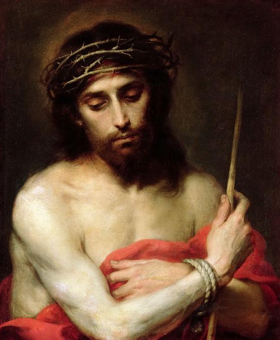 Christ The Man Of Sorrows. Bartolome Esteban Murillo