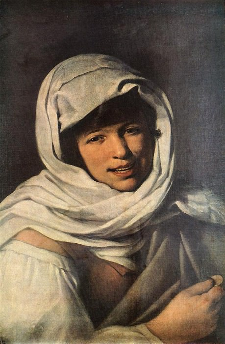 The Girl with a Coin (Girl of Galicia). Bartolome Esteban Murillo