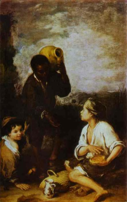 Three Boys. Bartolome Esteban Murillo