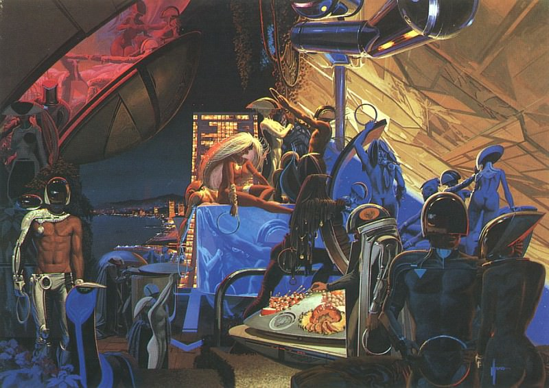 Party2000. Syd Mead