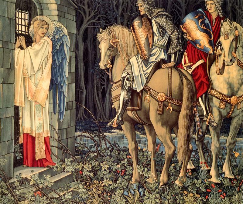 The Failure of Sir Gawain. William Morris