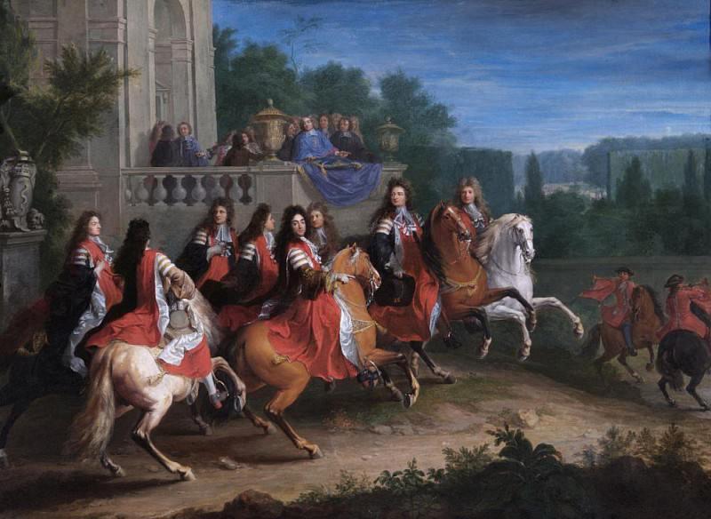 The Colbert Family. Adam Frans Van der Meulen