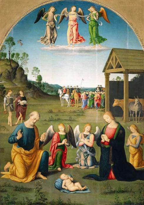 Nativity. Lo Spagna (Giovanni di Pietro)