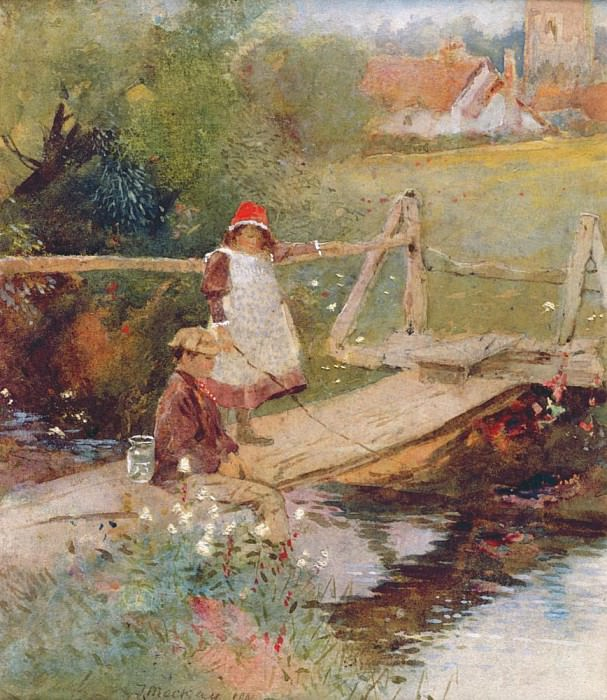 The Young Anglers. Thomas Mackay