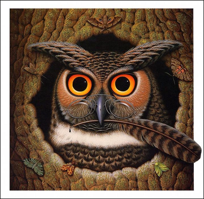 The Wise Owl. James Marsh