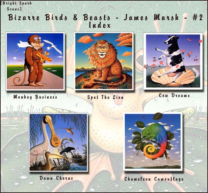 !bs BizarreBirds&Beasts JamesMarsh 02 Index. James Marsh