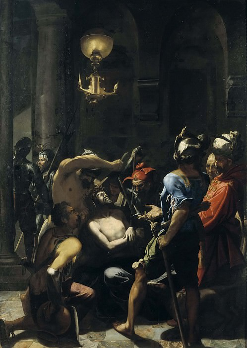 The Scourging of Christ. Aert Mijtens