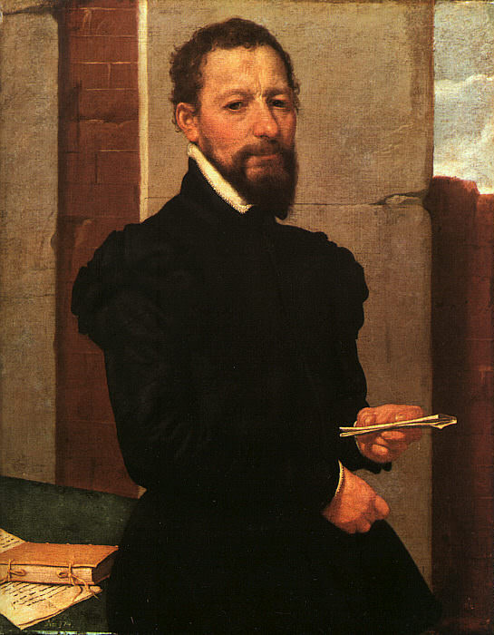 Moroni Portrait of a Man, 1560, canvas, Art History Museum,. Giovanni Battista Moroni