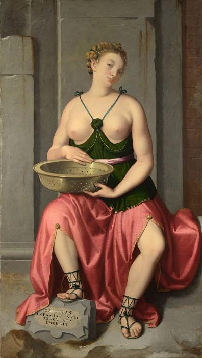 The Vestal Virgin Tuccia. Giovanni Battista Moroni