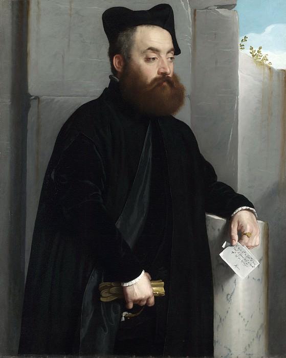 Canon Ludovico di Terzi. Giovanni Battista Moroni